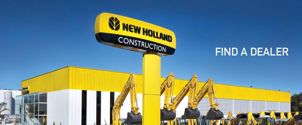 New Holland Dealership : New holland construction