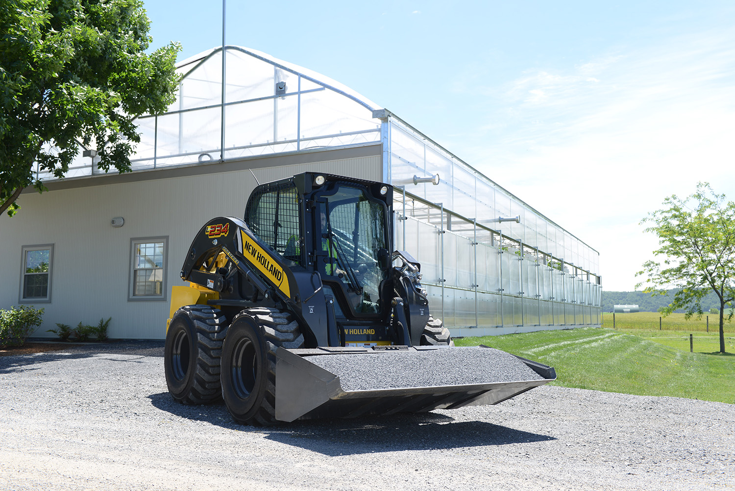 New, 2021, New Holland Construction, L234, Skid Steers